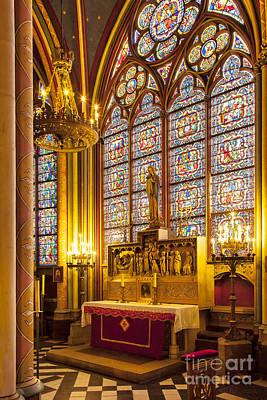 Photograph - Notre Dame Chapel by Brian Jannsen