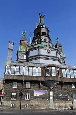 Que Photograph - Notre-dame De Bonsecours Chapel And Marguerite Bourgeoys Museum by Jason O Watson