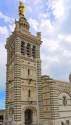 Photograph - Notre Dame De La Garde by Herb Paynter