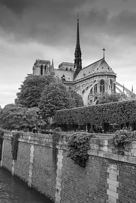 Photograph - Notre Dame De Paris by Heidi Hermes
