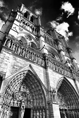 Photograph - Notre Dame De Paris by John Rizzuto