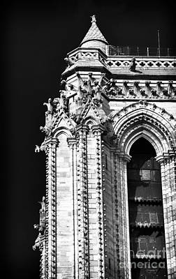 Photograph - Notre Dame Details by John Rizzuto