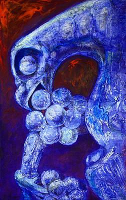 Galerie Painting - Notre Dame Gargoyle by Derrick Higgins