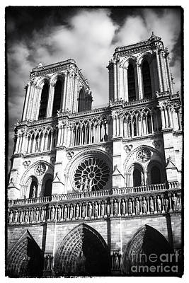 Photograph - Notre Dame by John Rizzuto