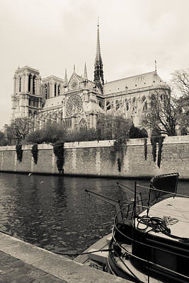 Photograph - Notre Dame  by Matthew Pace