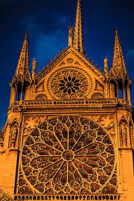 Digital Art - Notre Dame Motif by Ray Shiu