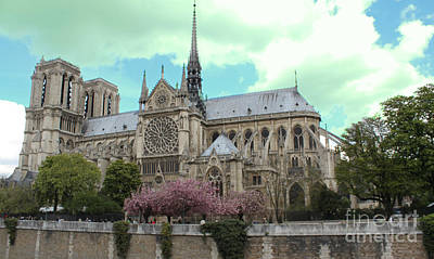 Photograph - Notre Dame by Rita Brown