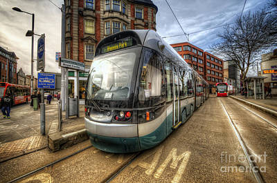 Photograph - Nottingham Tram by Yhun Suarez