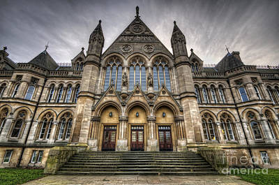 Photograph - Nottingham University - Arkwright Building by Yhun Suarez