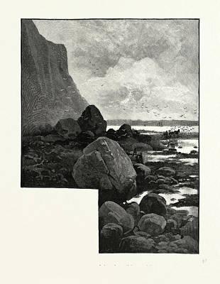 Nova Scotia, Cape Blomidon, Minas Basin, Canada Art Print by Canadian School