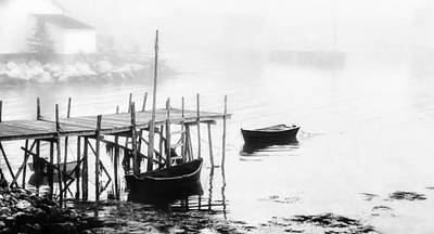 Photograph - Nova Scotia Fishing Village by Frederick H Claflin