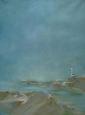 Painting - Nova Scotia Fog by Judith Rhue