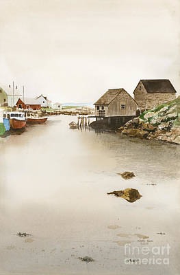 Nova Scotia Art Print by Monte Toon