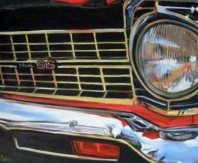Painting - Nova Ss by Kaytee Esser