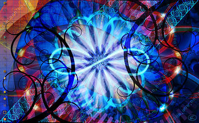 Digital Art - Novem by Kenneth Armand Johnson