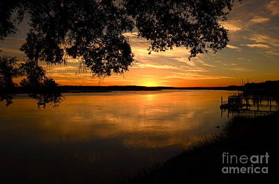 November 4 2013 Sunset Art Print