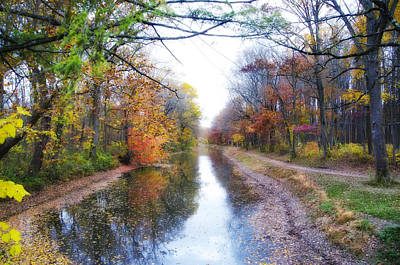 Hope Digital Art - November Along The Delaware Canal by Bill Cannon
