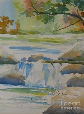 f545924f31 Wall Art - Painting - November At Nolichucky River by Jill Morris