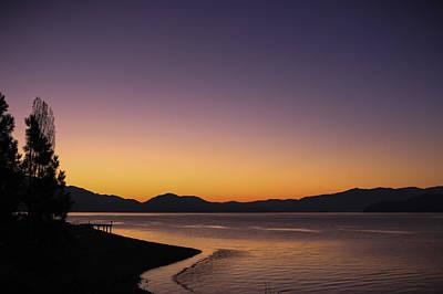 Photograph - November Dawn by Albert Seger
