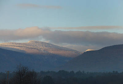 Photograph - November Ice Atop High Peak And The Kaaterskill Clove by Terrance DePietro