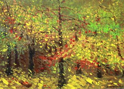 Painting - November by Jorge Parellada