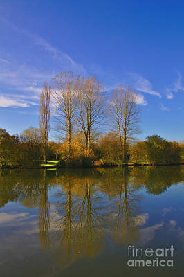 Photograph - November Lake 2 by Jeremy Hayden