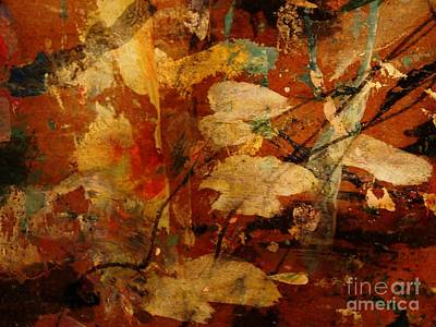 Sepia Ink Mixed Media - November Mood by Nancy Kane Chapman