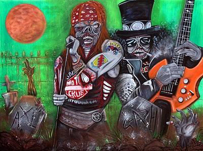 November Rain  Art Print by Laura Barbosa
