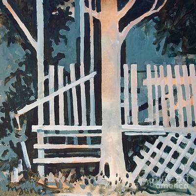 November Shadows Art Print by Micheal Jones
