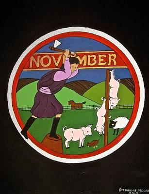 Painting - November by Stephanie Moore