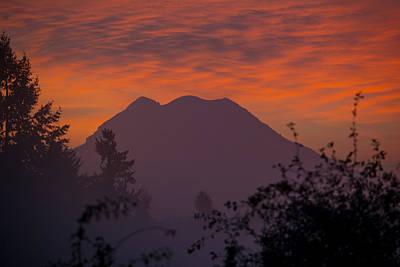 Photograph - November Sunrise 3 by Tikvah's Hope