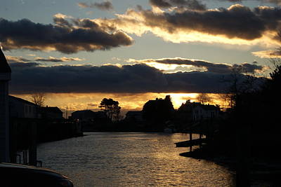 Photograph - November Sunset At The Creek by Margie Avellino
