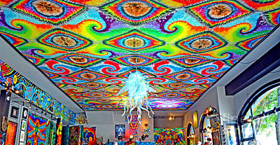 Now That's A Ceiling Art Print by Jim Fitzpatrick