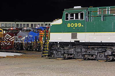 Photograph - Ns Heritage Locomotives Family Photographs 29 by Joseph C Hinson Photography