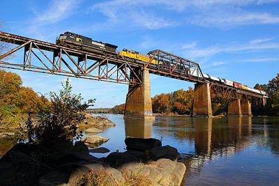 Ns Over The Congaree Art Print
