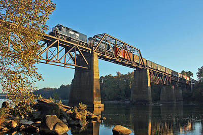 Photograph - Ns P77 Over The Congaree by Joseph C Hinson Photography