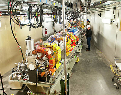 Installation Photograph - Nsls II Particle Accelerator Magnets by Brookhaven National Laboratory