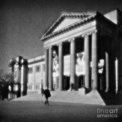 Pinhole Photograph - Nsw State Library Sydney by Colin and Linda McKie