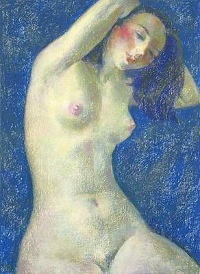 Nu 1 Art Print by Leonid Petrushin