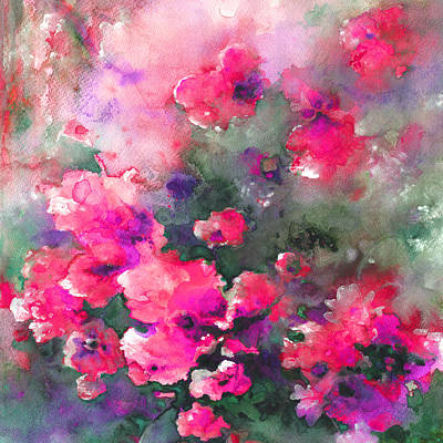 Painting - Nuage En Fleur 02 by Miki De Goodaboom