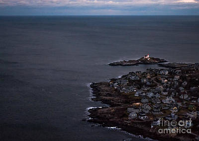 Nubble From The Air Art Print