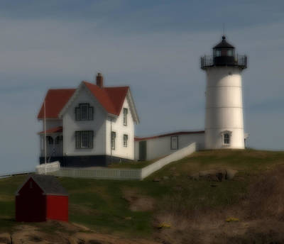 Photograph - Nubble In Soft Focus by Caroline Stella