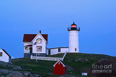 Photograph - Nubble Light 1 by Butch Lombardi