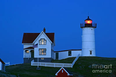 Photograph - Nubble Light II by Butch Lombardi