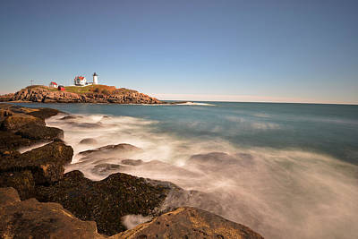 Photograph - Nubble Light In York Me Cape Neddick by Toby McGuire