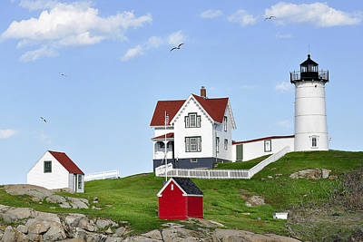 Photograph - Nubble Light by Joanne Brown