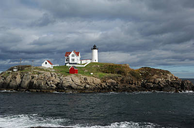 Lighthouse Photograph - Nubble Light by Ralph Staples