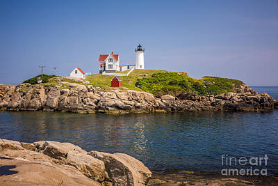 Photograph - Nubble Light Summer Day by Susan Cole Kelly