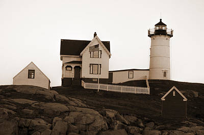 Photograph - Nubble Lighthouse by Crystal Wightman