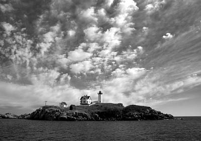 Photograph - Nubble Lighthouse by Daniel Woodrum